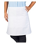 2 Pocket Short Bistro Apron, 19 inch