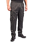 Chalk Stripe Cargo Style Chef Pants