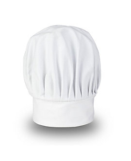 White Chef Hat, 11 inch