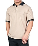 Mens Pique Knit Sport Shirt, Clearance