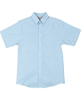 KNG® Mens Short Sleeve Oxford Shirt
