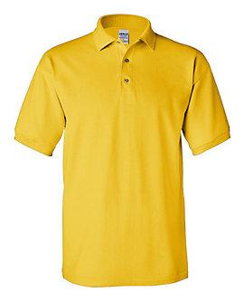 Unisex Pique Knit Solid Color Sport Shirt, Clearance