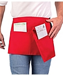 3 Pocket Reversible Waist Apron, 11 inch