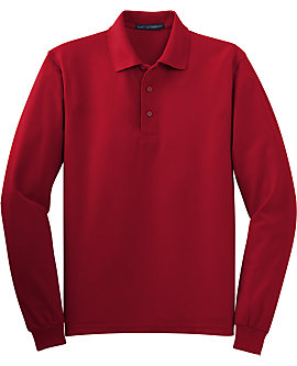 Mens Soft Touch Sport Shirt, Long Sleeve