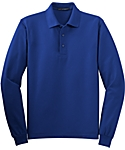 Mens Silk Touch Sport Shirt, Long Sleeve