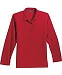 Womens Silk Touch Sport Shirt, Long Sleeve
