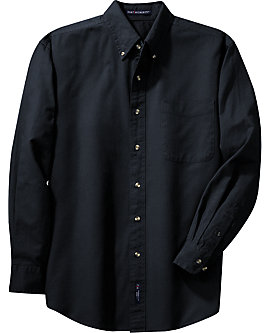 Mens Twill Shirt, Long Sleeve