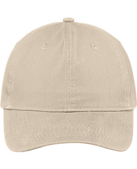 Low Profile Brush Twill Cap