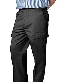 Mens Pants Flat Front Cargo