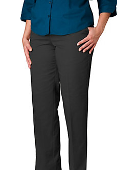 Womens Value Twill Pant, Black, Clearance