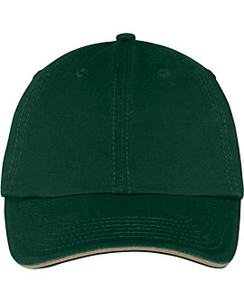 Washed Twill Sandwich Cap