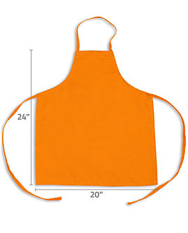 Color Childrens Bib Apron, Medium