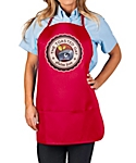 Three Pocket Adjustable Bib Apron, 27 inch Rounded Corners