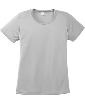 Womens Wicking Tee, 100% Polyester, 3.8oz
