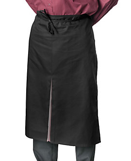Color Inset Bistro Apron, 32 inch, Clearance