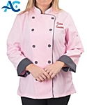 Womens Long Sleeve Active Chef Coat
