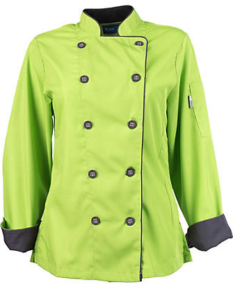 4e053fe25 Womens Long Sleeve Active Chef Coat | KNG.com
