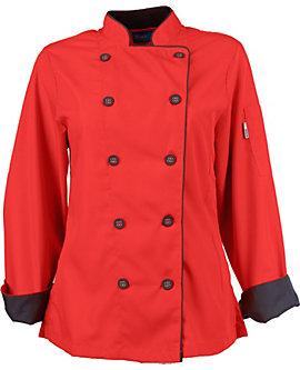 Women's Long Sleeve Active Chef Coat