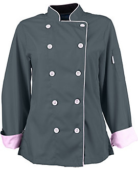 Women's Long Sleeve Active Chef Coat