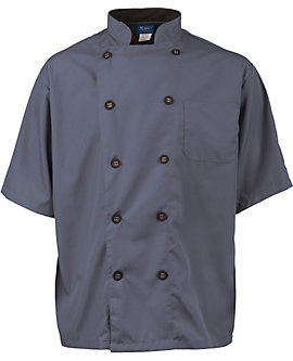 Men's Short Sleeve Active Chef Coat