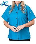 Womens Short Sleeve Active Chef Shirt