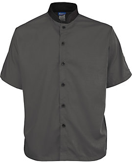 Short Sleeve Lightweight Poplin Cook Shirt
