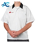 Short Sleeve Active Chef Kitchen Shirt