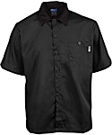 Lightweight Short Sleeve Active Chef Kitchen Shirt