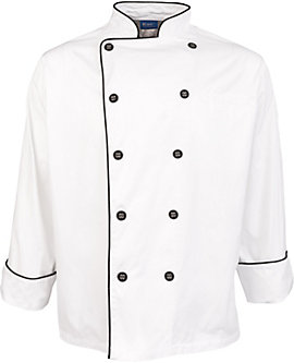 Men's Pima Cotton Chef Coat