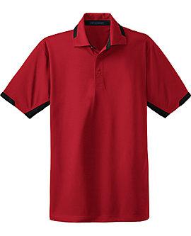 Mens Colorblock Ottoman Sport Shirt