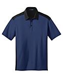 Men's Color Block Silk Touch Sport Shirt