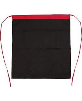 Bistro Apron with Contrast Stripe, 30 inch