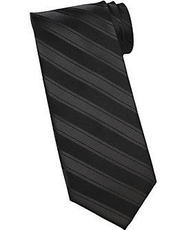 Tonal Stripe Polyester Neck Tie