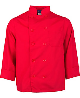 Lightweight Long Sleeve Chef Coat