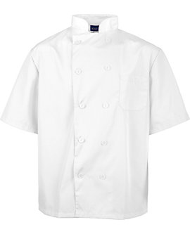 Lightweight Short Sleeve Chef Coat
