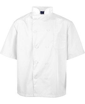 Lightweight Short Sleeve Chef Coat