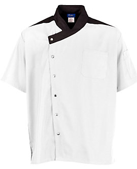 Lightweight Uptown Snap Front Chef Coat