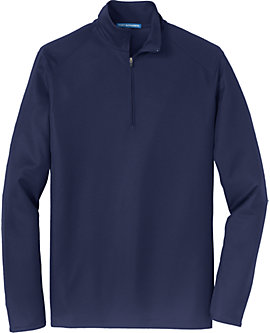 Mens Pinpoint Mesh Zip Jacket