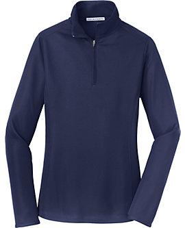 Womens Pinpoint Mesh Zip Jacket