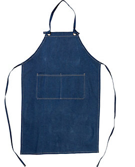 2 Pocket Denim Bib Apron