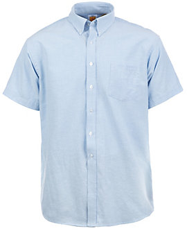 Mens Short-Sleeve Oxford Shirt