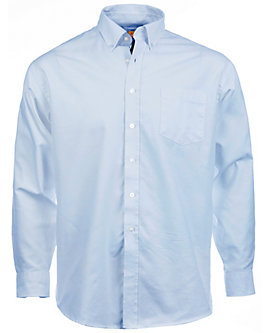 Mens Long-Sleeve Oxford Shirt