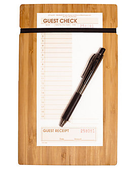 "Bamboo Clipboard with Elastic Band, 6½"" x 10½"""