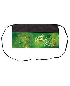 "St Patrick's Day 3 Pocket 11"" Waist Apron with Dye Sub Design"