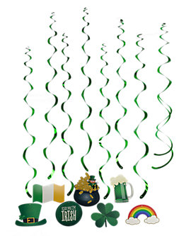 St Patrick's Day Whirls, Variety Pack of 30