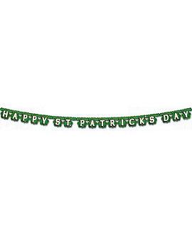 "St Patrick's Day Banner, 4.25"" x 6' 9"""
