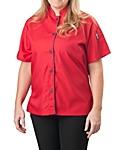 Womens Short Sleeve Active Chef Shirt