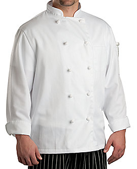 Off-White Chef Coat Classic Knot LS, Clearance
