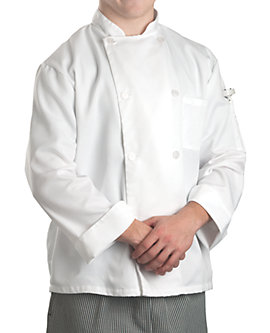 Off-White Chef Coat White Value LS, Clearance