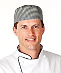 Pill Box Chef Cap